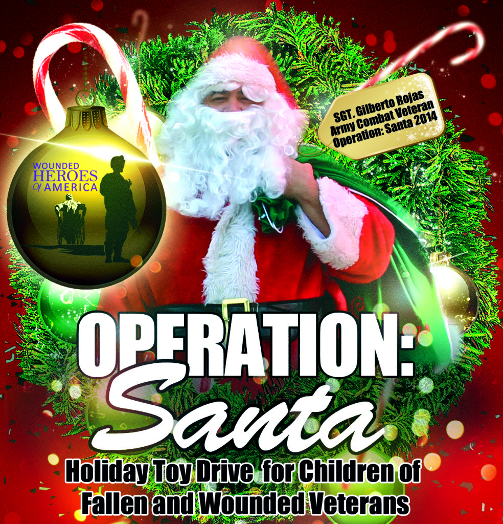 holiday toy drive operation santa is kicking off wounded 2015 holiday toy drive operation santa is kicking off
